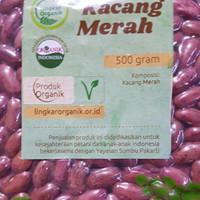 Kacang Merah Organik merk Lingkar Organik 500 gram