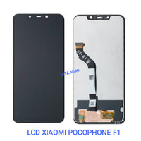 LCD XIAOMI POCOPHONE F1 + TOUCHSCREEN ORIGINAL - Hitam