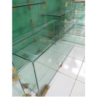 Aquarium Kaca Ukuran 150x50x50 cm Tebal Kaca 10 mm Full