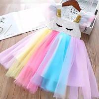 dress GEORGINA baju dress gaaun pestaa anak perempuan princess import