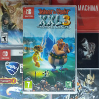 Asterix & Obelix   XXL3   The Crystal Menhir   Switch™  💯% Baru