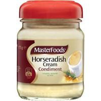 masterfoods horseradish cream condiment 175gr