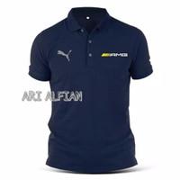 Kaos Kerah Polo shirt Amg Mercy Power Mercedes Benz