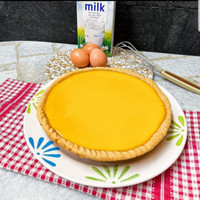 Egg tart / tart susu / kue lontar diameter 22 cm - Original