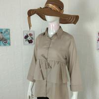 baju polos atasan wanita , baju kerja wanita blouse remaja