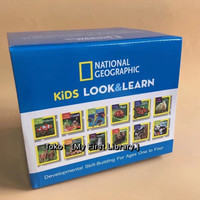 12 board book National Geographic Kids Look&Learn