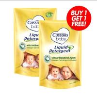 Cussons Baby Liquid Detergent 700ml free 700ml / Sabun Cuci Baju Bayi