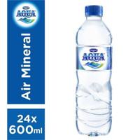 Aqua 600ml 1dus 24 botol