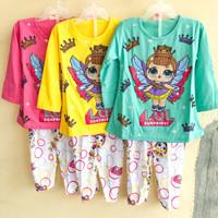 baju tidur anak perempuan lol wings piyama abg remaj terlaris kekinian