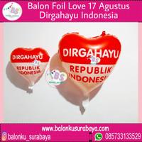 balon foil dirgahayu 17 agustus