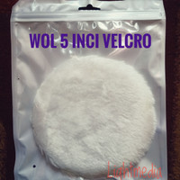 WoL poles mobil 5 inci velcro / wool kompon