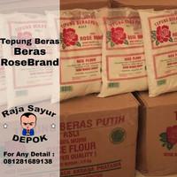 Tepung Beras putih Rose Brand 500 Gram ( 1 dus isi 20)