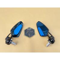 Bar End Mirror Spion Jalu Arrow CRG Rep Vespa Universal