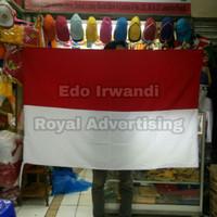Bendera Merah Putih Ukuran 90 x 135 cm Bahan Katun Sanwos Berkualitas