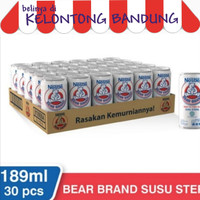 Bear Brand 189ml Susu Beruang Cair Steril Bearbrand 189ml - Dus Karton