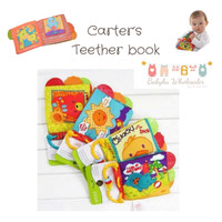 SOFTBOOK TEETHER CARTER / BUKU KAIN TEETHER /GIGITAN BAYI