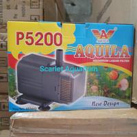 Pompa Air AQUILA P5200 / P 5200 Aquarium Liquid Filter Water Pump
