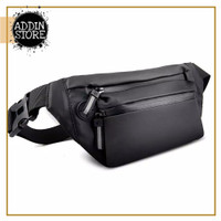 Waistbag Anti Air MURAH Tas Selempang Pria Wanita Waist Bag COD 027