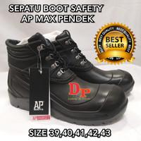 SEPATU BOOT SAFETY AP MAX PENDEK BOOTS SAFETY AP MAX PENDEK