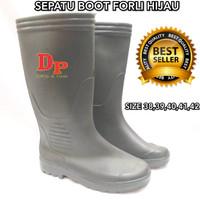 SEPATU BOOT FORLI HIJAU BOOTS GREEN FORLI - 39