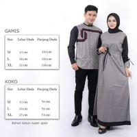 baju couple / atasan couple / baju Koko / busana muslim / Koko batik