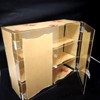 Display / lemari / rak akrilik multifungsi