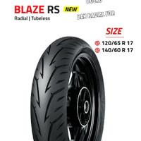 BAN LUAR FDR RADIAL BLAZE RS 120/65-17 TUBELESS