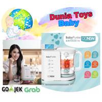 oonew baby puree 6 in 1 baby food processor steam blender makanan bayi