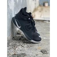 sepatu basket nike original FLY BY MID black white new 2020
