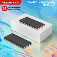 MOFIT Powerbank M12 10000mAh Real Capacity Fast Charger + Type C