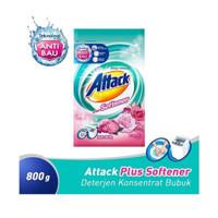 Attack + Softener | Detergen Bubuk | 800 gr