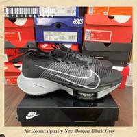 Sepatu Original Nike zoom Alpha Fly next percent Black Grey BNIB