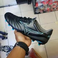Sepatu Bola Mizuno Morelia Neo II Black Blue FG