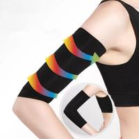 1Pair Slimming Compression Arm Shaper Slimming Arm Belt Burn Cellulite