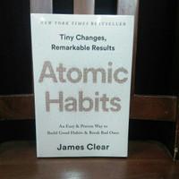 Buku Import Original ATOMIC HABIT by James Clear