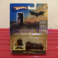 Mattel Hot Wheels Batman Begins Batmobile Tumbler With Batman