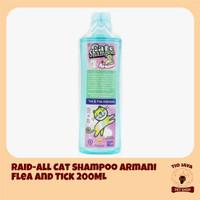 Raid All Cat Shampoo Armani Flea and Tick 200ML