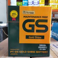 Aki Mobil Nissan Datsun GO GS Gold Shine NS40 ZL Aki kering