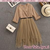 DRESS WANITA TERBARU/baju dress remaja kekinian/dress ala korea