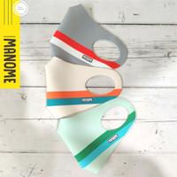 Masker Scuba Premium MANOME harga 3 Pcs - STRIPES