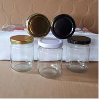 Jar kaca madu / jar sambal 250 ml