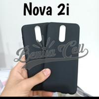 Huawei Nova 2i Soft Case Silikon Hitam Black Matte Slim Tipis
