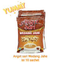 Anget Sari wedang jahe isi 10 sachet