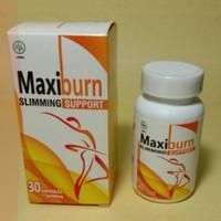 MAXIBURN Asli Obat Diet Penurun Berat Badan Herbal BPOM