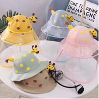 topi face shield bayi baby anak