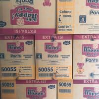 Baby Happy Pants L 30+4 harga perkarton