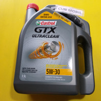 Oli Mesin Castrol GTX ULTRACLEAN 5W-30 baru untuk mobil LCGC 3,5 Liter