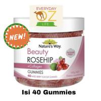 Nature's Way Beauty Rosehip & Collagen 40 Gummies natures way skin