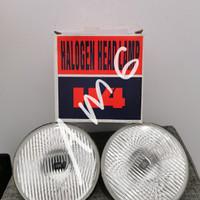 head lamp h4 bulat 7 inch set 2pc