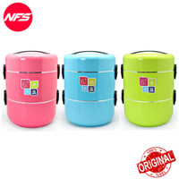 ARNISS Treva KW-0340 Travel Food Container Keep Warm/Rantang Panas-Hot